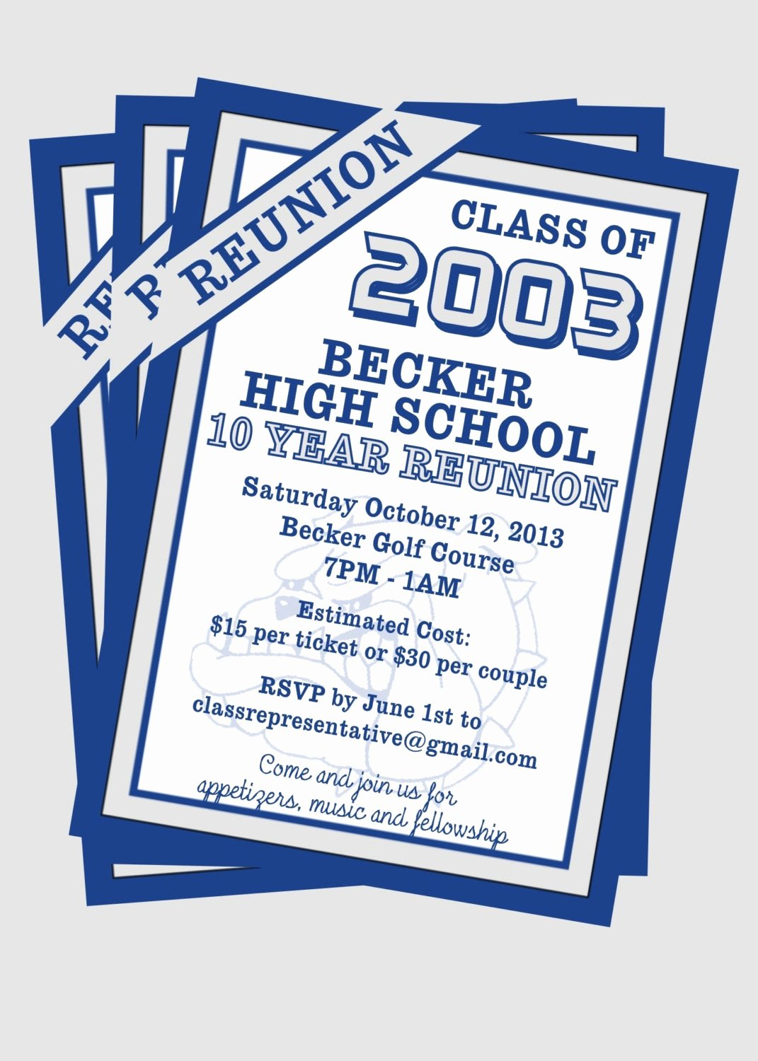 Class Reunion Invitation Template Free Elegant Class Reunion Invitation Customize with Your by