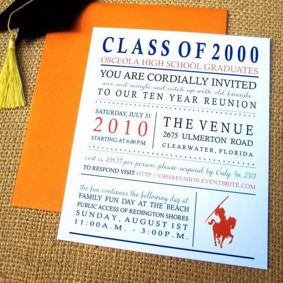 Class Reunion Invitation Template Free Fresh Class Reunion