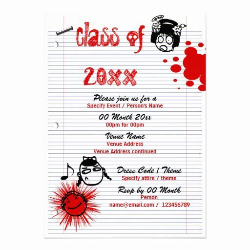 Class Reunion Invitation Template Free Lovely Class Reunion Invitation Templates