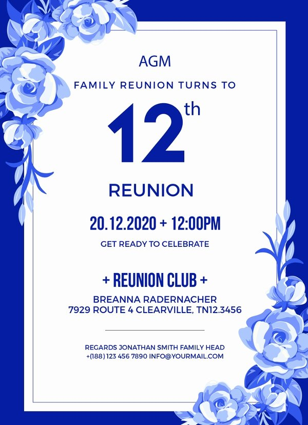 Class Reunion Invitation Template Free Unique 10 Reunion Invitation Templates Psd Ai Vector Eps