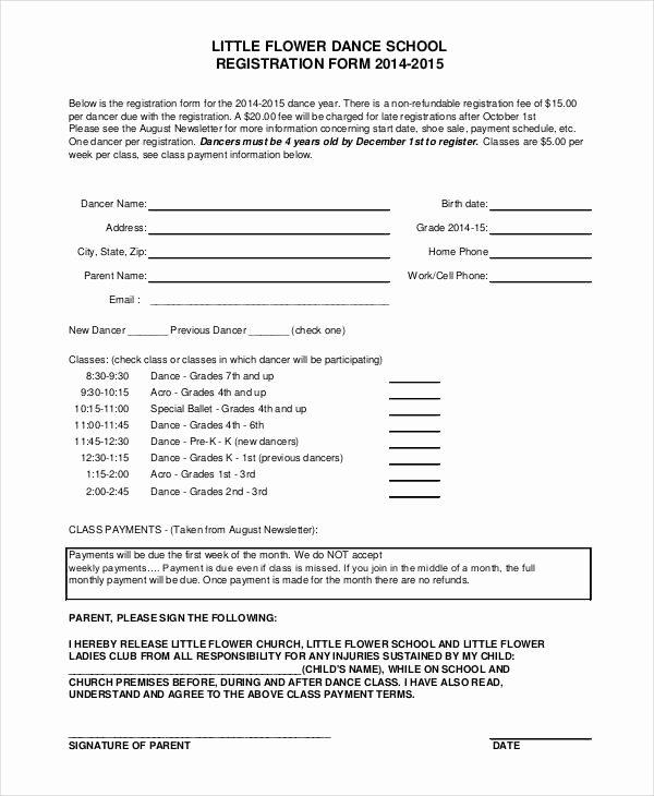 Class Reunion Registration form Template Awesome Registration form Template 9 Free Pdf Word Documents