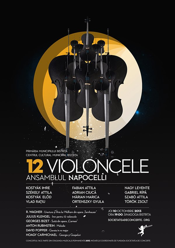 Classical Music Concert Posters Best Of Posters for Classical Music Concerts Part Ii On Behance