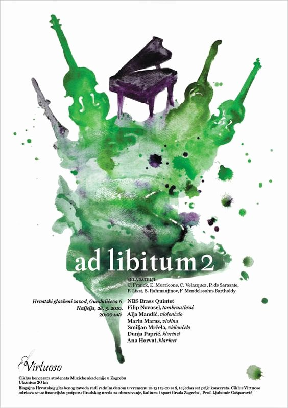 Classical Music Concert Posters Best Of Virtuoso Classical Music Posters by Laura Bosazzi Via