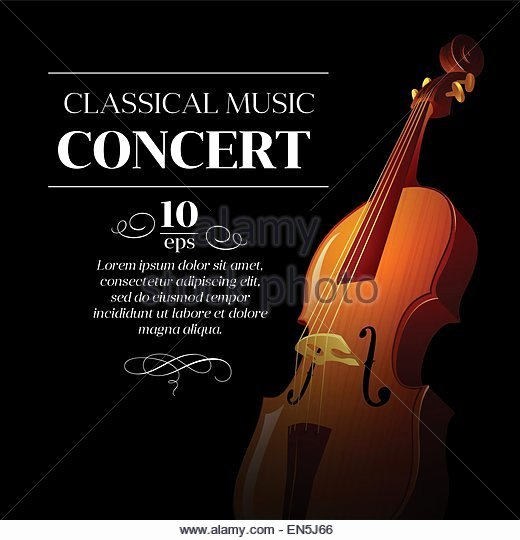 Classical Music Concert Posters Fresh the sound Music Poster Stock S & the sound