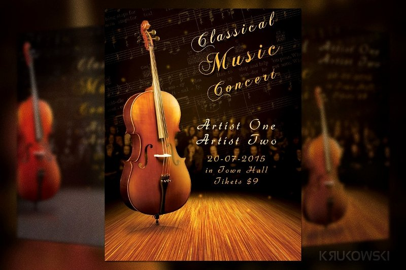 Classical Music Concert Posters Luxury 21 Concert Flyer Designs & Examples Psd Ai Vector Eps