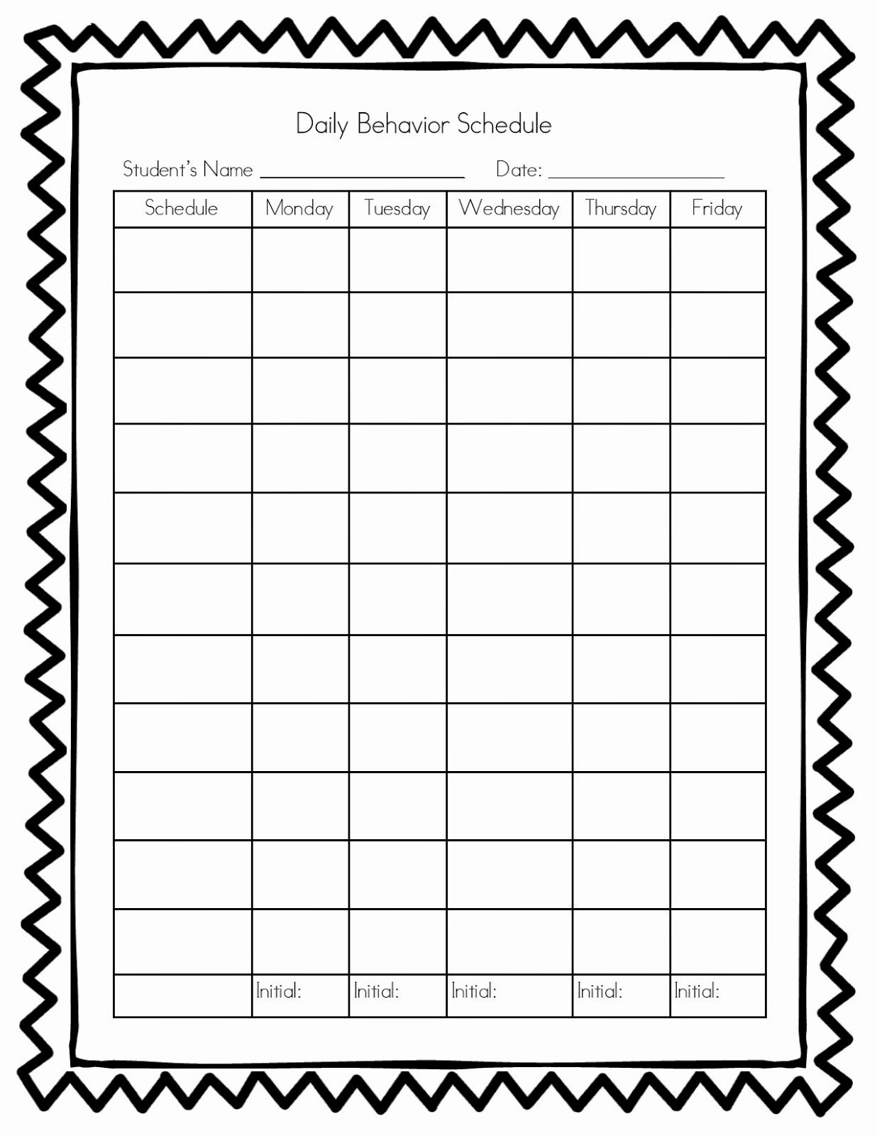 Classroom Behavior Chart Template Inspirational Teachers R Us Classroom Management Behavior Chart