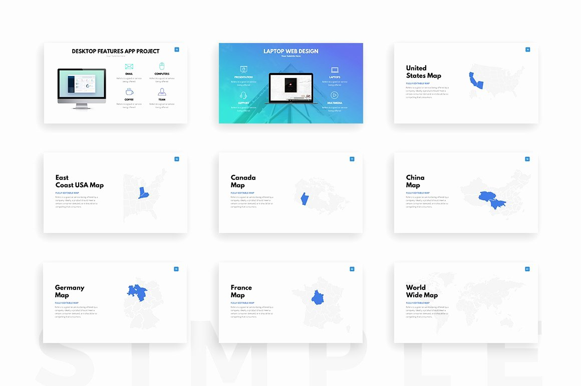 Clean Powerpoint Templates Free Elegant Clean Powerpoint Template Presentation Templates On