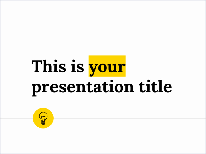 Clean Powerpoint Templates Free Fresh Free Minimal and Clean Powerpoint Template or Google
