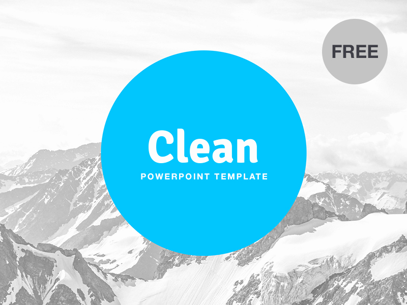 Clean Powerpoint Templates Free Fresh Free Powerpoint Template Clean by Hislide