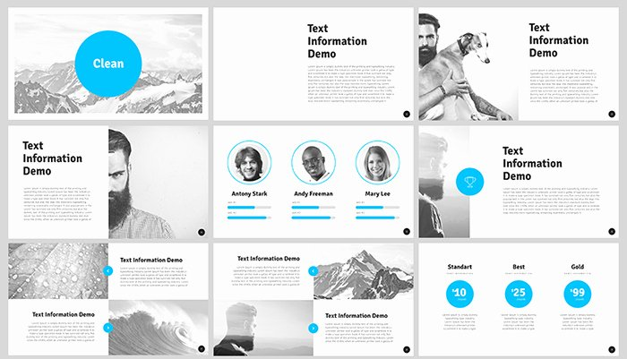 Clean Powerpoint Templates Free Inspirational 50 Best Free Cool Powerpoint Templates Of 2018 Updated