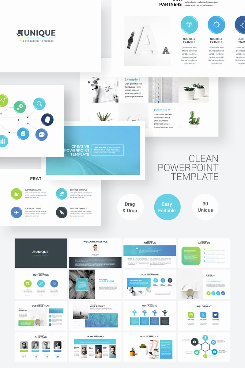 Clean Powerpoint Templates Free Inspirational Clean Simple Powerpoint Template