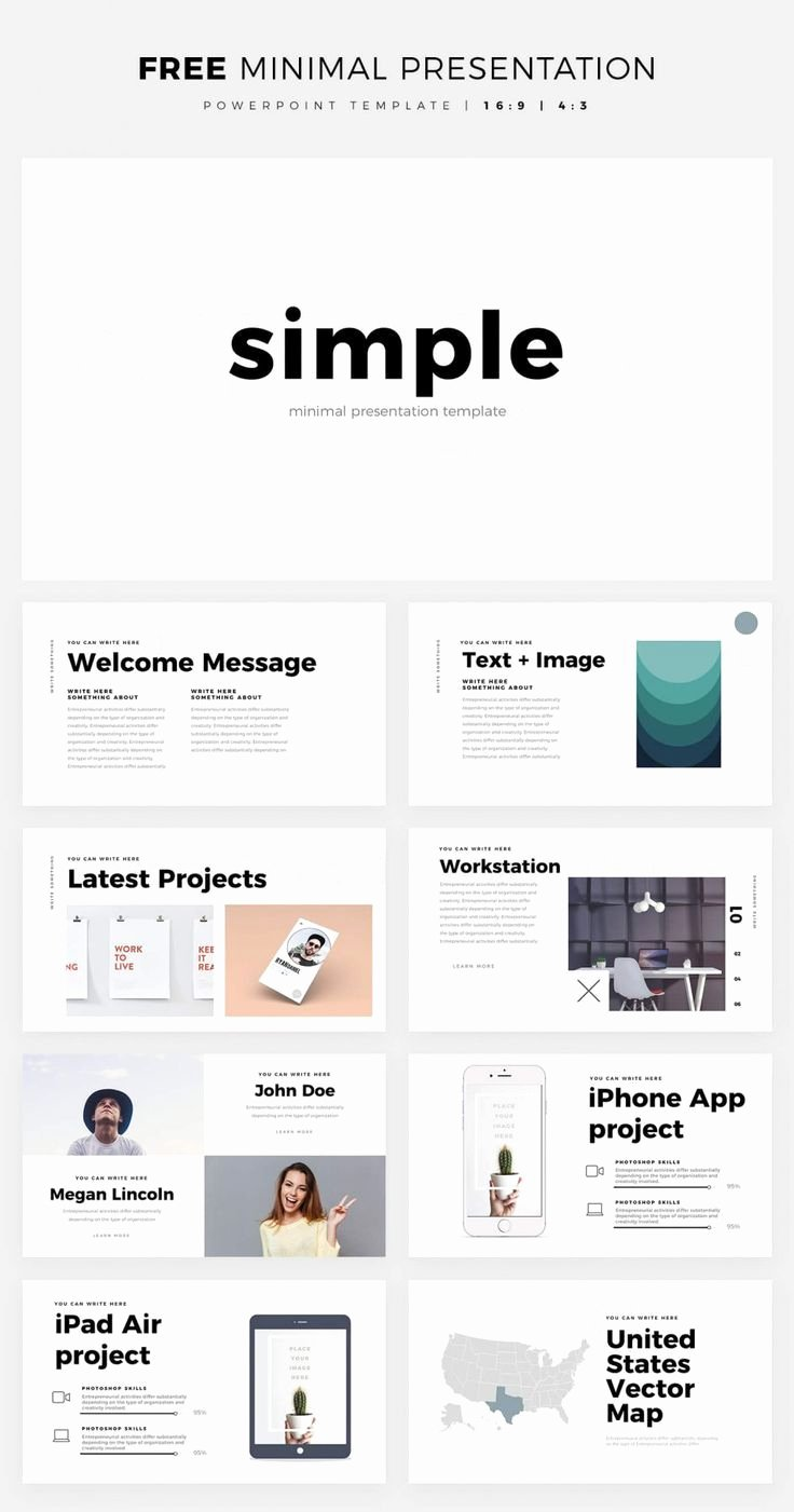 Clean Powerpoint Templates Free Lovely Simple and Clean Powerpoint Template Free Ppt theme