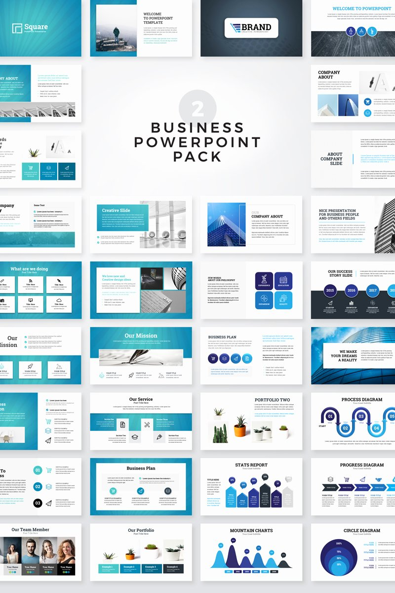 Clean Powerpoint Templates Free Luxury Clean Business Presentation Pack Powerpoint Template