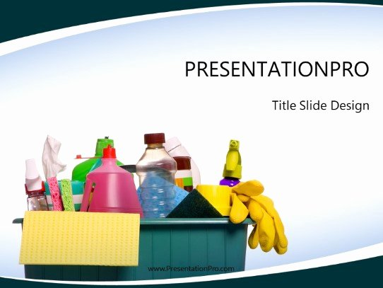 Clean Powerpoint Templates Free Luxury Household Cleaning Powerpoint Template Background In