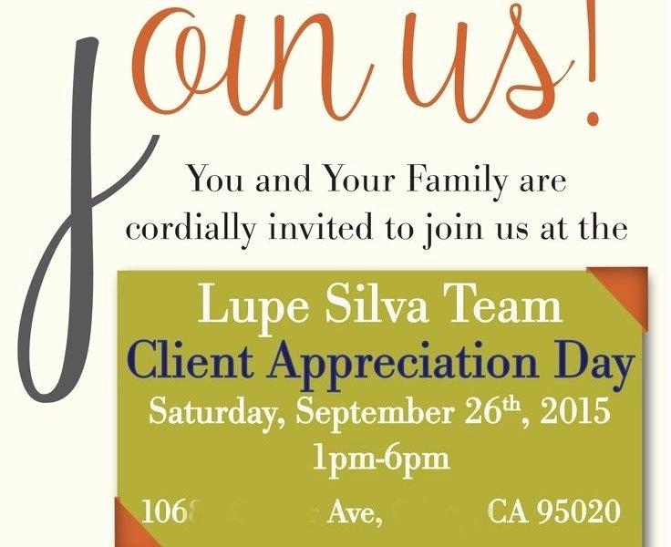 Client Appreciation Invitation Wording Beautiful Customer Appreciation Invitation Cobypic