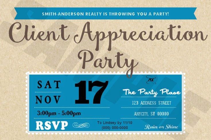 Client Appreciation Invitation Wording Inspirational Pin by Jescalee Designs On Custom Design orders