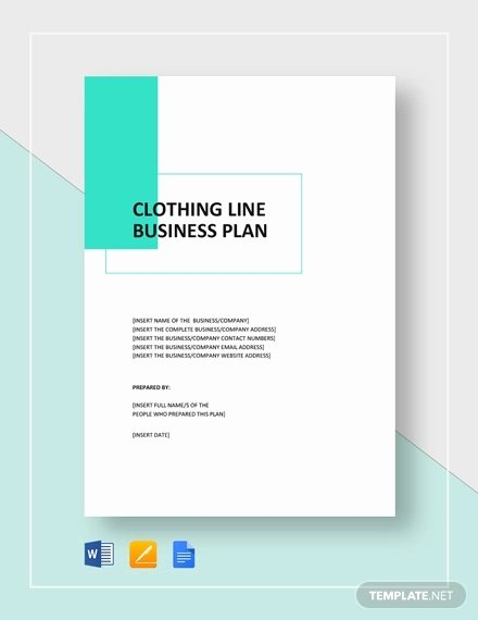 Clothing Line Business Plan Fresh Boutique Business Plan Template 22 Free Pdf Word