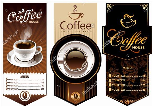 Coffee Shop Menu Template Beautiful 20 Coffee Menu Templates – Free Sample Example format