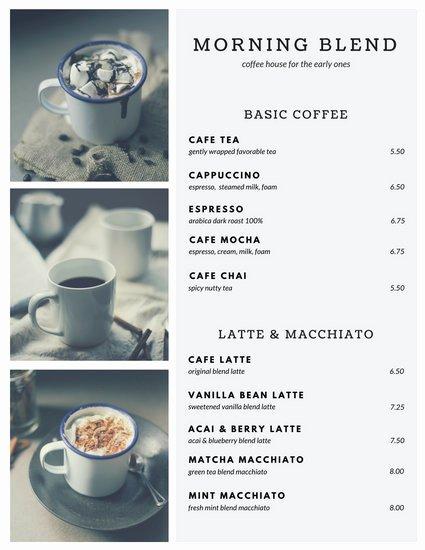 Coffee Shop Menu Template Fresh Customize 283 Coffee Shop Menu Templates Online Canva