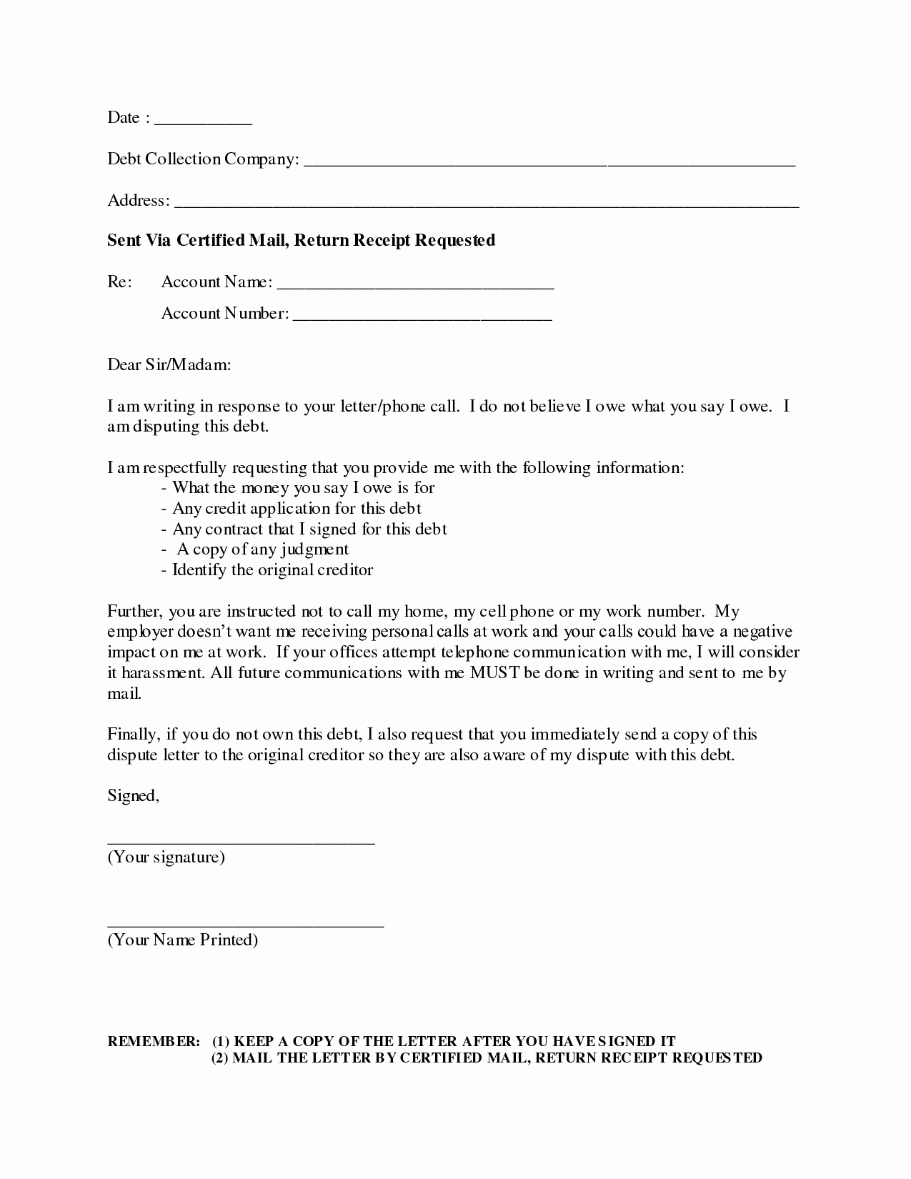 Collection Letter Template Free Elegant Best S Of Debt Collection Letter Debt Collection