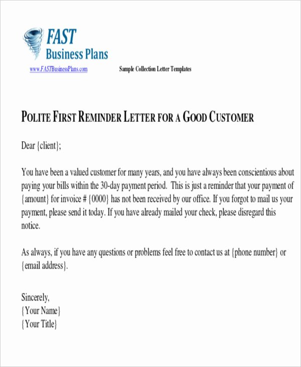 Collection Letter to Customer Lovely 43 Collection Letter Examples Google Docs Ms Word
