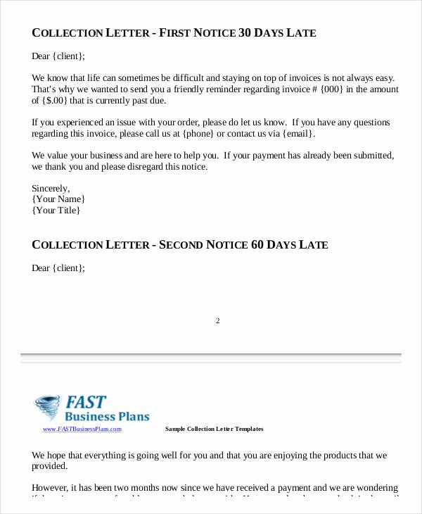 Collection Letters to Clients New 10 Collection Letter Samples Google Docs Ms Word