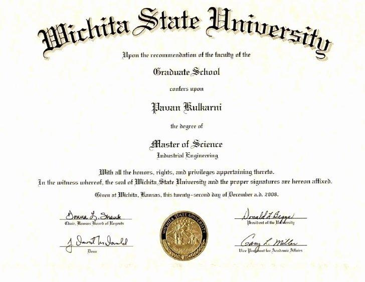 College Degree Certificate Templates Beautiful Masters Degree Certificate