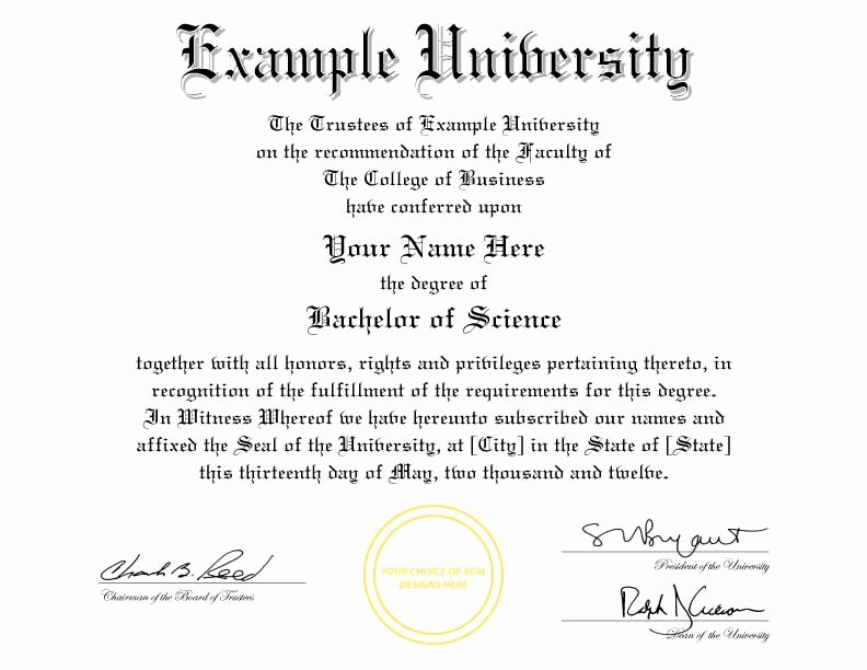 College Degree Certificate Templates Best Of Buy A Fake College Diploma Line