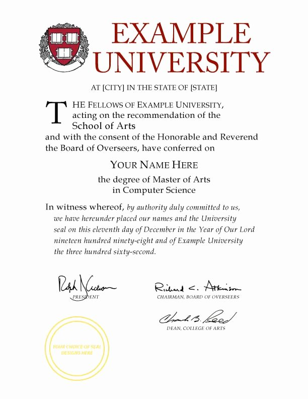 College Degree Certificate Templates Luxury Buy A Fake College Diploma Line