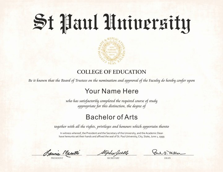 College Degree Certificate Templates Luxury the Best Collection Of Diploma Templates for Every Purpose