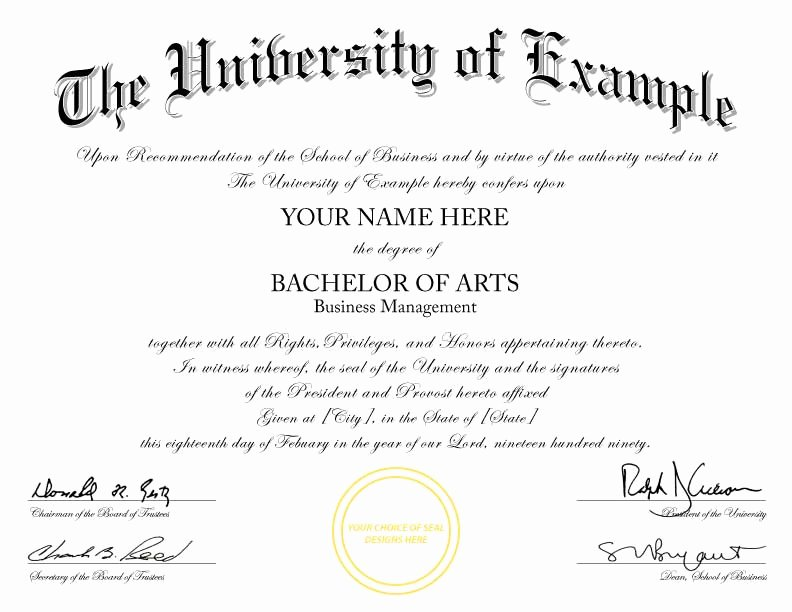 College Degree Certificate Templates New Buy A Fake College Degree Line
