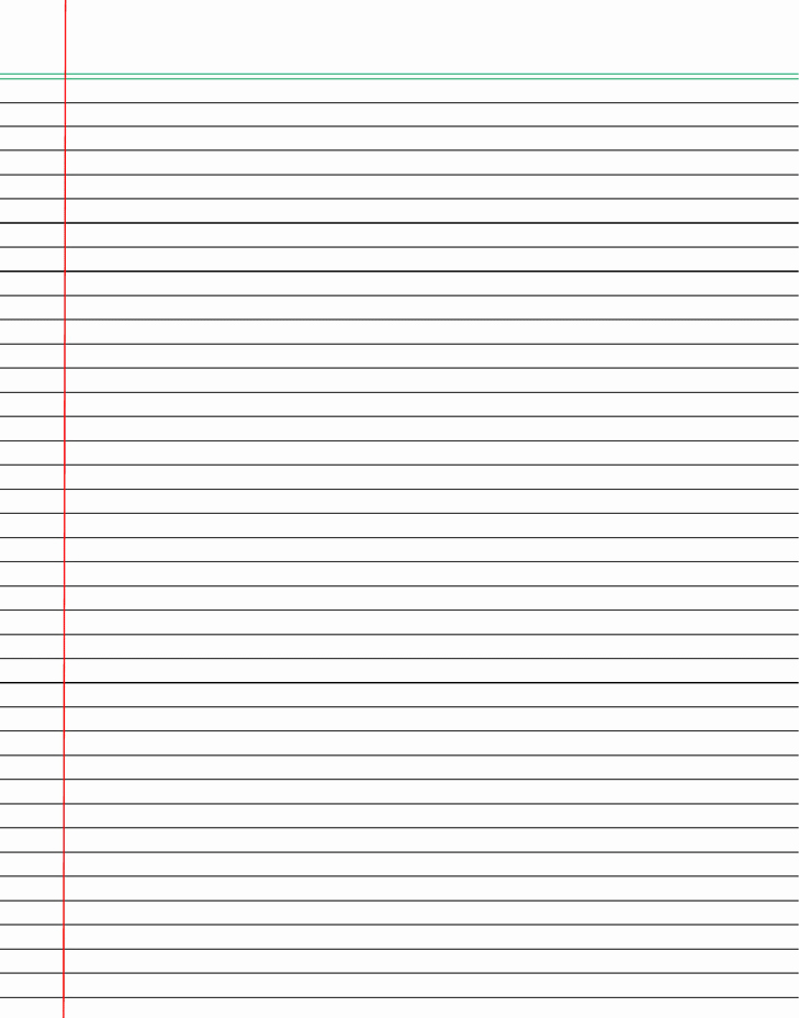 College Ruled Line Paper Beautiful Free Lined Paper College Ruled Docx 65kb