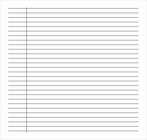 College Ruled Line Paper Elegant Free 9 Sample College Ruled Paper Templates In Pdf