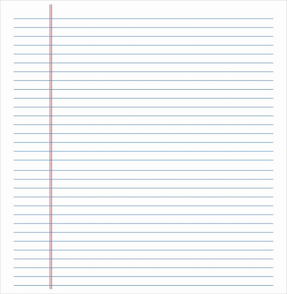 College Ruled Line Paper Lovely College Ruled Notebook Paper