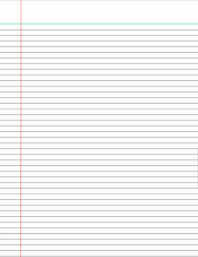 College Ruled Line Paper Lovely Printable College Ruled Papers