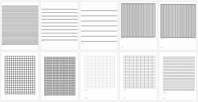 College Ruled Line Paper Unique Printable College Ruled Papers