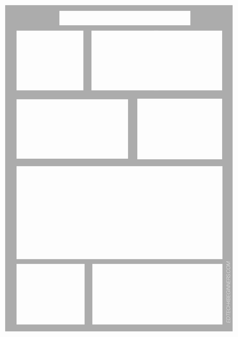Comic Strip Template Beautiful A Range Of Free Downloadable Writing Templates – Edtech