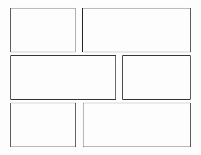 Comic Strip Template Best Of 3rd Grade First Batch Of Ic Templates