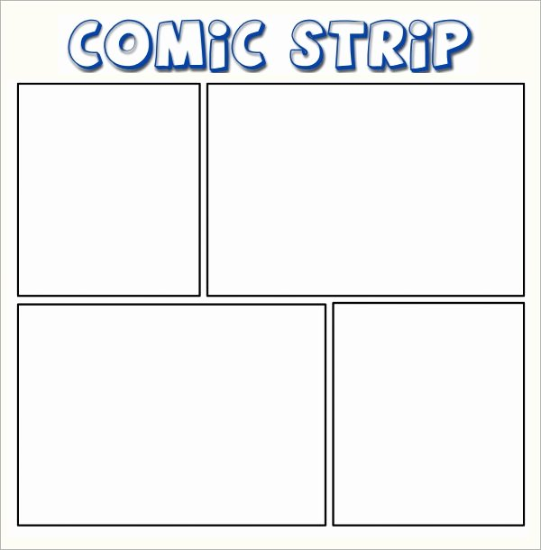 Comic Strip Template Best Of Sample Ic Strip 6 Documents In Pdf