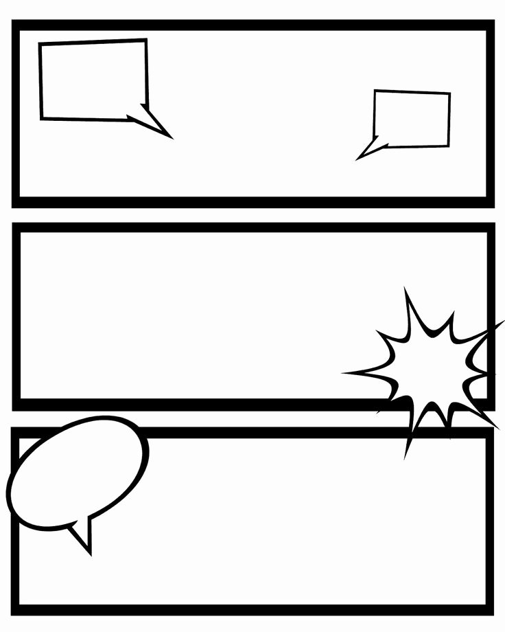 Comic Strip Template Elegant Printable Ic Strips for Narration Sweet Hot Mess