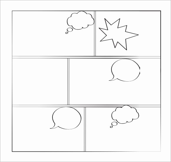 Comic Strip Template Fresh Sample Ic Book 6 Documents In Pdf Psd