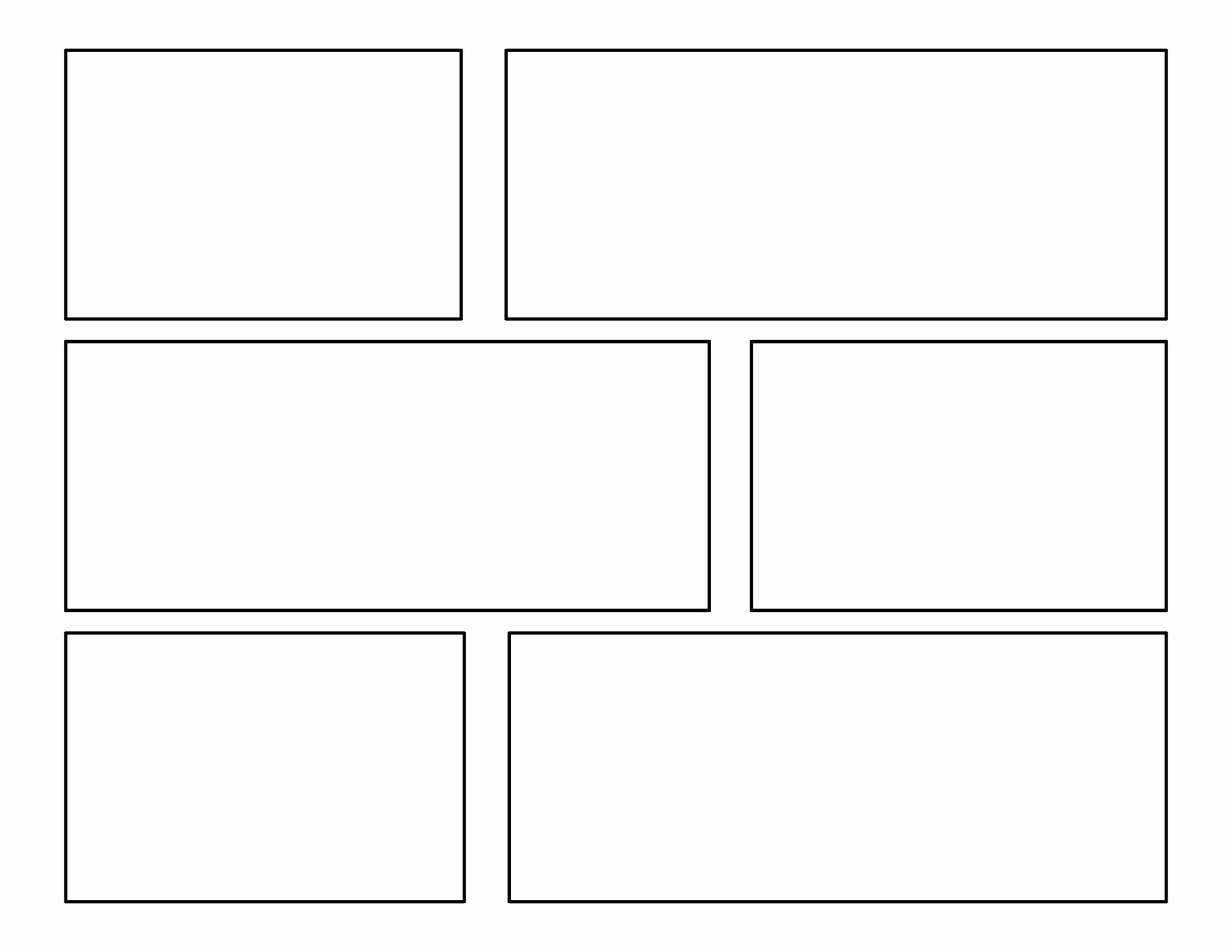Comic Strip Template Unique 3rd Grade First Batch Of Ic Templates