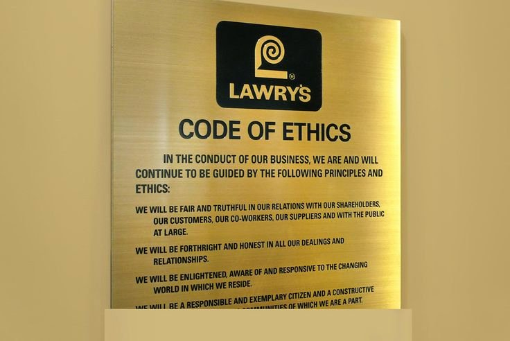 Company Code Of Ethics Example Fresh 13 Best Codes Of Ethics Conduct Images On Pinterest