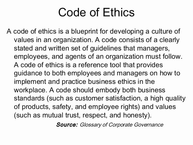 Company Code Of Ethics Example Unique 13 Best Codes Of Ethics Conduct Images On Pinterest