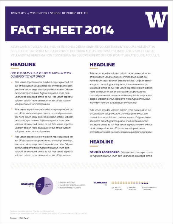 Company Fact Sheet Template New Fact Sheet Templates Word Excel Samples