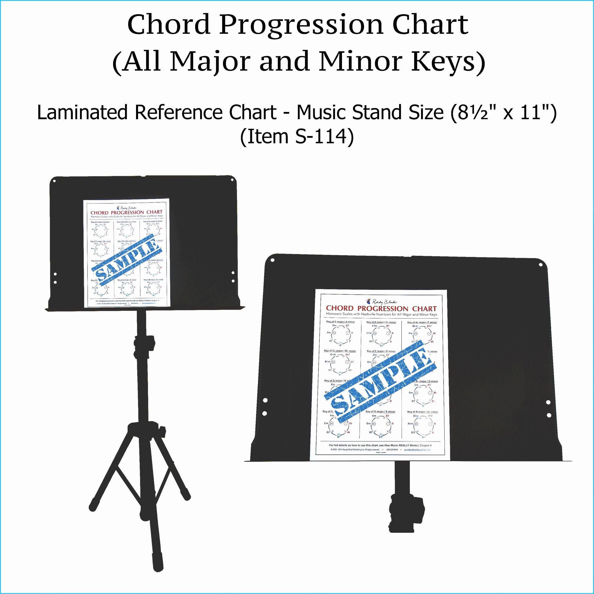 Complete Guitar Chord Chart Elegant Plete Guitar Chords Chart Laminated Reference Wall