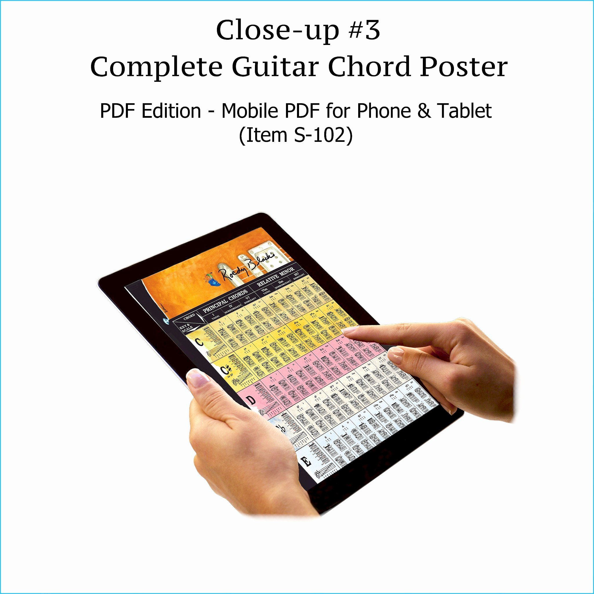 Complete Guitar Chords Chart Fresh Plete Guitar Chords Chart Laminated Reference Wall