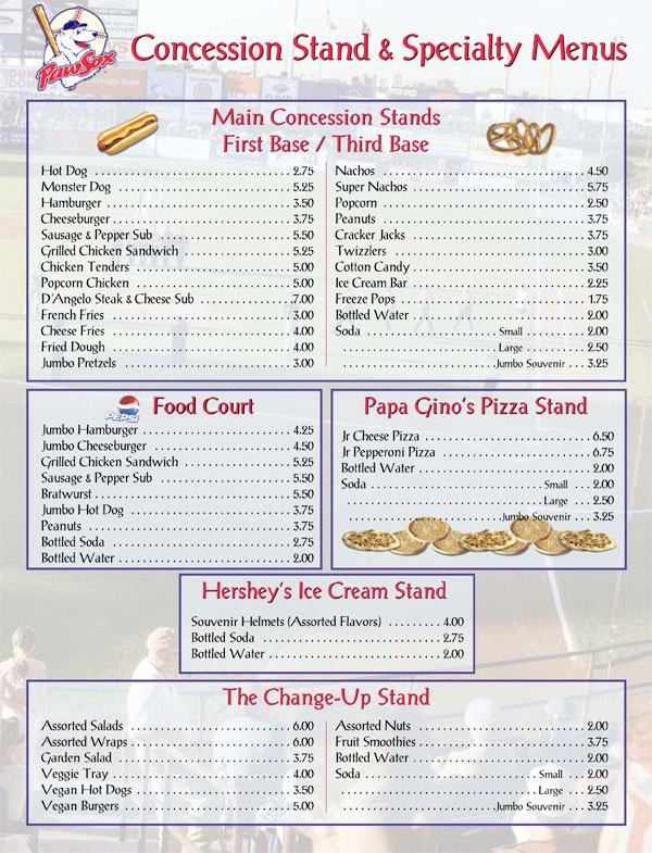 Concession Stand Price List Template Awesome Concession Stand Menu Cake Ideas and Designs