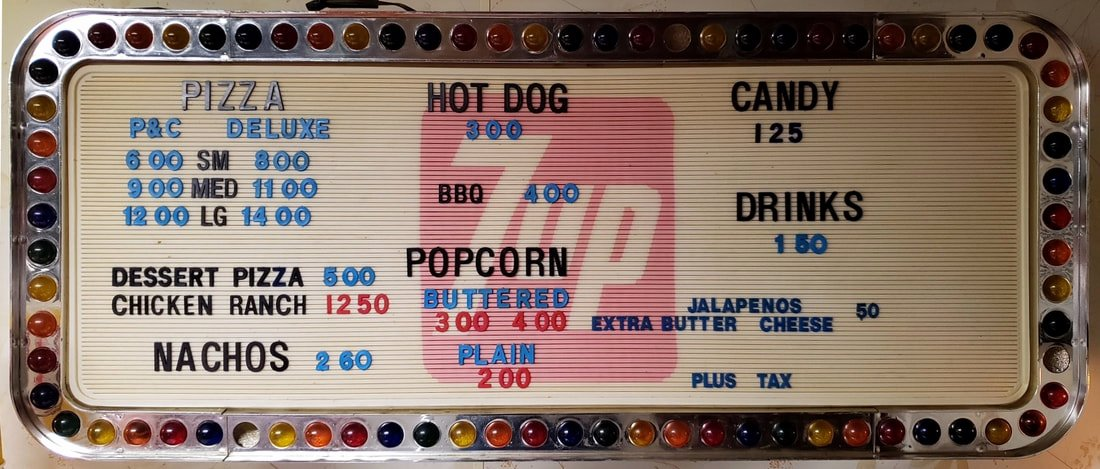 Concession Stand Price List Template New Concession Stand Meadow Bridge Drive In