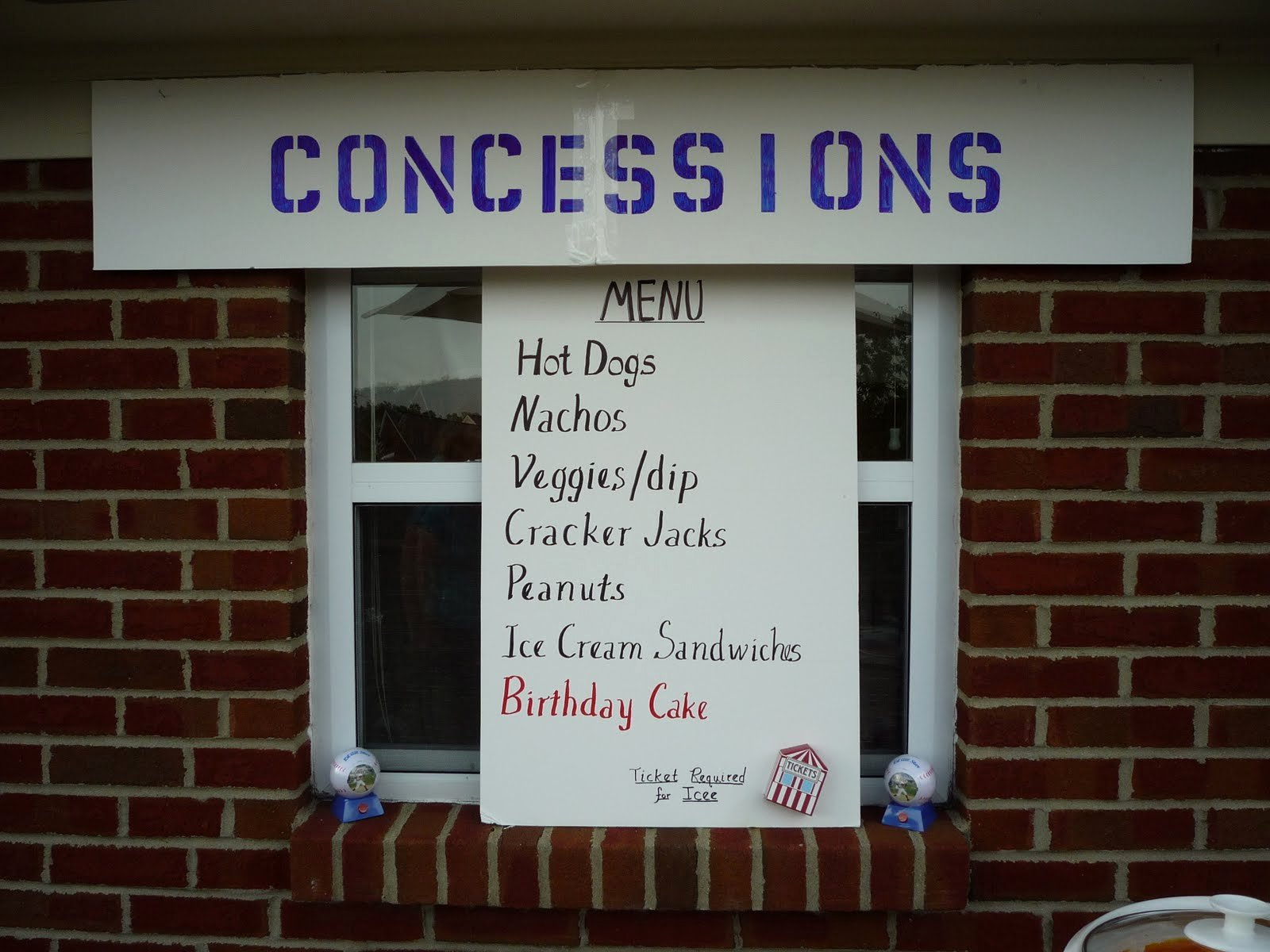 Concession Stand Price List Template New Concession Stand Menu Cake Ideas and Designs